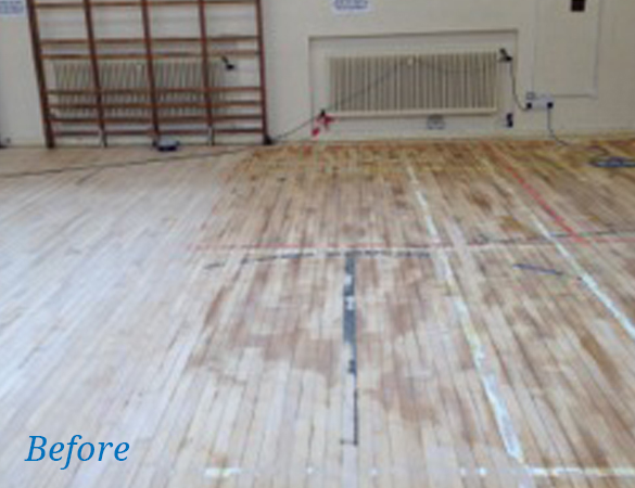 Wooden Floor Renovation
