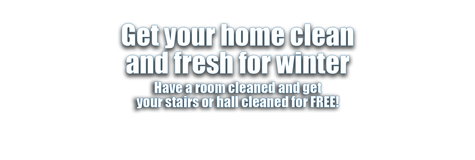 Christmas carpet cleaning offer
